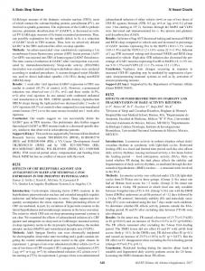 0131 EFFECTS OF CRF RECEPTOR-1 AGONIST AND ANTAGONIST ...