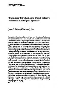 07 Cohn and Jun.pmd - Journal of French and Francophone Philosophy