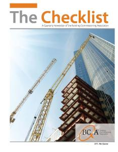 0787 BCA.TheChecklist_0113REV.indd - Building Commissioning ...
