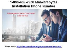 1-888-489-7936 Malwarebytes Technical Support Phone Number