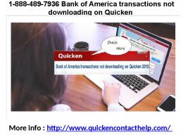 1-888-489-7936 Quicken Customer Support Phone Number