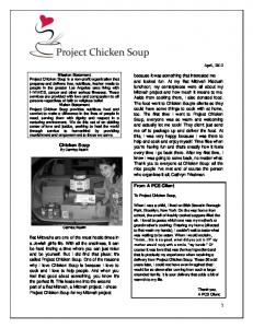 1 Chicken Soup From A PCS Client