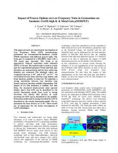 1/f gate tunneling current noise model of ultrathin ...