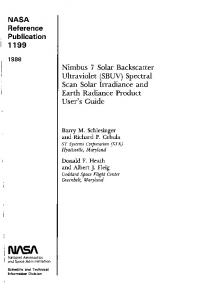 1 I199 - NASA Technical Reports Server (NTRS)