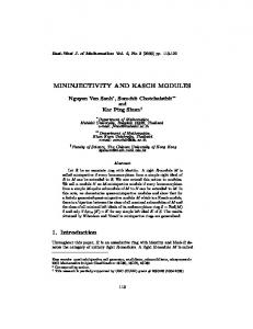 1. Introduction - East-West Journal of Mathematics