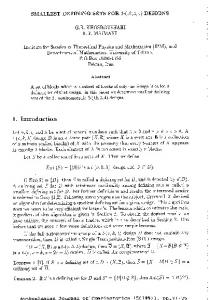 1. Introduction - The Australasian Journal of Combinatorics