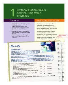 1 Personal Finance Basics and the Time Value of Money