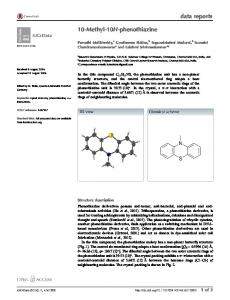 10-Methyl-10H-phenothiazine