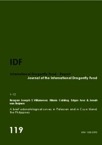 119 IDF - International Dragonfly Fund