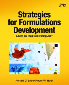 1.2 How Formulation Experiments are Different - SAS
