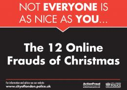 12 Online Frauds of Christmas - East Ayrshire Council