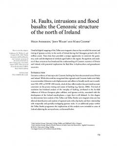 14. Faults, intrusions and flood basalts: the Cenozoic ...