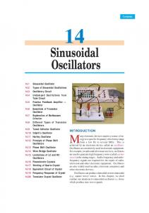 14. Sinusoidal Oscillators - Talking Electronics
