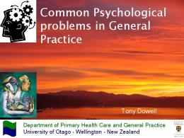 1400-1600 Dowell - C.. - General Practice Conference & Medical ...