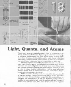 18 Light, Quanta, and Atoms - KSU Physics Education Research ...