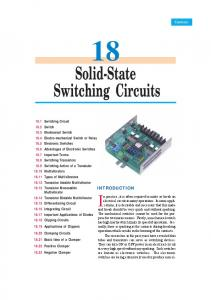 18. Solid-State Switching Circuits - Talking Electronics