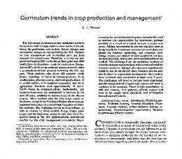 (1983) Curriculum Trends In Crop Production and Management ...