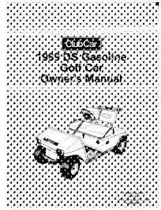 1989 Gas - Club Car