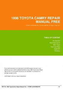 1996 toyota camry repair manual free 1tcrmf 18 fafo6 pdf 1996 toyota camry repair manual free 1tcrmf 18 wwom6 pdf fandeluxe Images
