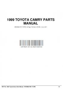 1999 toyota camry repair manual free 1tcrmf 18 wwom6 pdf 1999 toyota camry parts manual wwom84 pdf 1tcpm fandeluxe Images