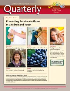 2 - Preventing Substance Abuse in Children and Youth - Children's ...