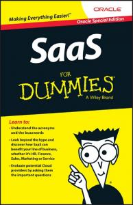 2 SaaS For Dummies, Oracle Edition