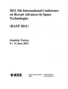 2011 5th International Conference on Recent ... - Proceedings.com