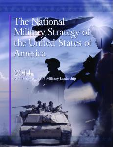 2011 National Military Strategy