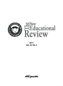 2011 Vol. 26. No. 4 - The New Educational Review