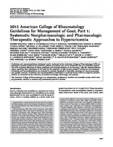The 2008 American College of Rheumatology     - Wiley Online