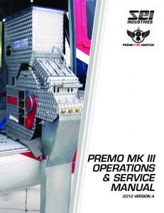 2012 Premo MK III Manual Cover.indd - SEI Industries Ltd.