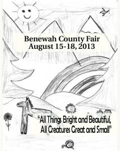 2013 Fairbook - Benewah County Fair