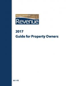 2013 Guide for Property Owners