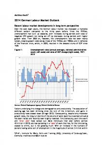 2014 German Labour Market Outlook - Institut Arbeit und Qualifikation