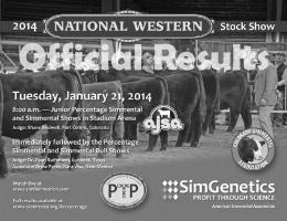 2014 NWSS Junior Show Official Results