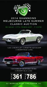 2014 SHANNONS MELBOURNE LAtE SUMMER CLASSIC AUCtION