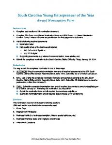 2014 Young Entrepreneur nomination form.pdf - Small Business ...