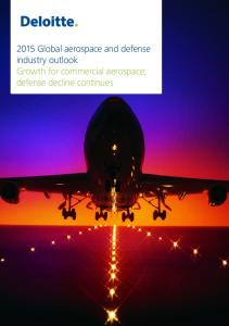 2015 Global aerospace and defense industry outlook