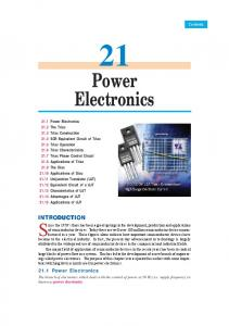 21. Power Electronics - Talking Electronics