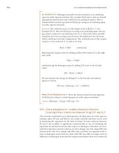 24-5. chemical equations for Oxidation-Reduction Reactions ...