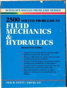 2500 solved problems in fluid mechanics & hydraulics ...