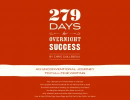 279 Days to Overnight Success - Chris Guillebeau