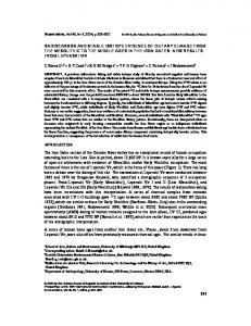 293 radiocarbon and stable isotope evidence of dietary ... - CiteSeerX