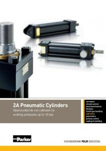 2A Pneumatic Cylinders - All Air, Incorporated