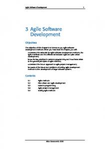 3 Agile Software Development