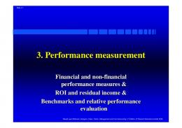 3. Performance measurement - Userpage