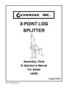 Log splitter for a truck having a three point snowplow hitch and 25010839revh pickup truck snowplow read more 3 point log splitter sciox Images