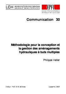 30 Communication - Infoscience - EPFL