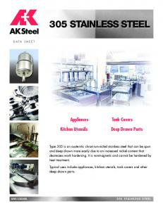305 STAINLESS STEEL