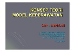 3a. KONSEP-TEORI-MODEL - Keperawatan | Unair - Universitas ...